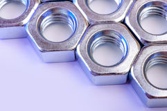 Metal nut Royalty Free Stock Photography