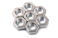 Metal nut Stock Images