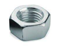 Metal nut royalty free stock photos