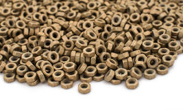 Metal nut Stock Image