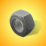 Metal nut Stock Photography