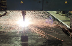 Metal o cortador Fotografia de Stock