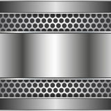 Metal o fundo abstrato Imagem de Stock Royalty Free