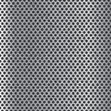 Metal o fundo com círculos Fotografia de Stock