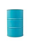 Luz - tambor de óleo azul imagens de stock