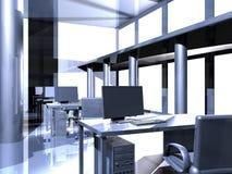 Metal Office. Surrealistic Metal Architecture