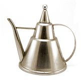 Metal oil pot royalty free stock photo