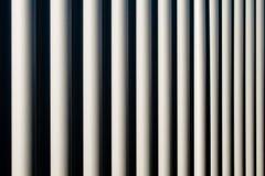 Metal ondulado Fotos de archivo