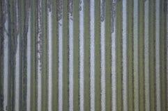 Metal ondulado Fotos de Stock