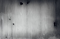 Metal ondulado Foto de Stock Royalty Free