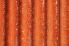Metal ondulado oxidado Imagem de Stock Royalty Free