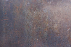 Metal ośniedziała korodująca tekstura Obraz Stock