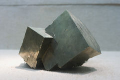 Metal Ore pyrite Stock Photos