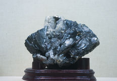 Metal Ore  wolframite Royalty Free Stock Photo
