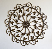 Metal ornamental symbol Stock Photography