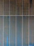 Metal os painéis com as raias da oxidação marrom e azul Foto de Stock Royalty Free