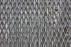 Metal over wood texture Royalty Free Stock Photography