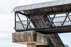 Metal overpass Royalty Free Stock Photography