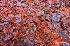 Metal, oxidação, corrosão, tambor, recipiente fotografia de stock