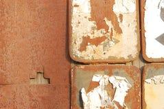 Metal oxidado foto de stock royalty free