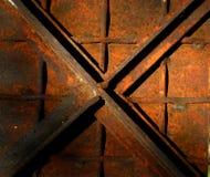 Metal oxidado Foto de archivo libre de regalías
