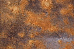Metal oxidado fotos de archivo
