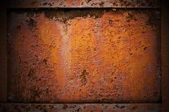 Metal oxidado imagem de stock