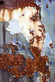 Metal oxidado Imagens de Stock