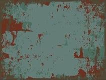 Metal oxidado ilustración del vector