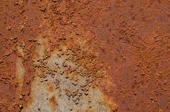 Metal oxidado Fotografía de archivo
