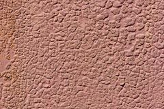 Metal oxidado com pintura da casca Corrosão severa do metal foto de stock royalty free