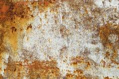 Metal oxidado de Grunge imagens de stock