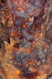 Metal oxidado Flaky fotos de stock