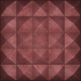 Metal oxidado pirâmides rebitadas como o fundo ilustração do vetor
