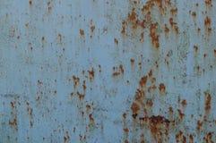 Metal oxidado Textura detallada de la foto Imagenes de archivo