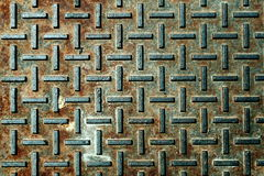Metal oxidado velho Fotografia de Stock