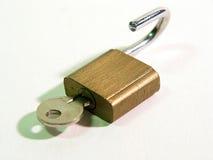 Metal padlock Stock Images