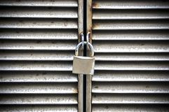 Metal padlock royalty free stock images