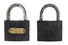 Metal padlock on Stock Photo