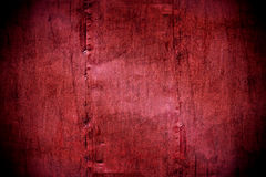 Metal painted crimson wall texture Royalty Free Stock Photography