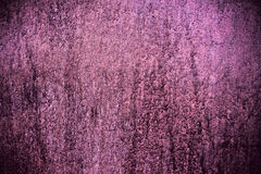 Metal painted violet wall texture Royalty Free Stock Image