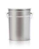 Metal painting Pail Stock Photo