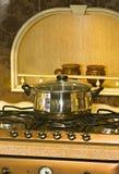 Metal pan Royalty Free Stock Photo