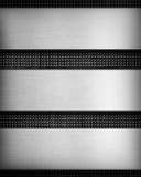 Metal panel Stock Image