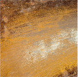Metal panel covered in rust Stock Photos