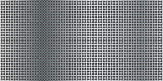 Metal panel with small holes Royalty Free Stock Photos