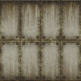 Metal panel texture seamless Royalty Free Stock Images