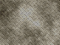 Metal panel with textured bumps Royalty Free Stock Photos