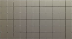 Metal panels background Royalty Free Stock Photo