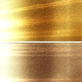 Metal panels. In different materials with some fine grain in it Royalty Free Stock Photos
